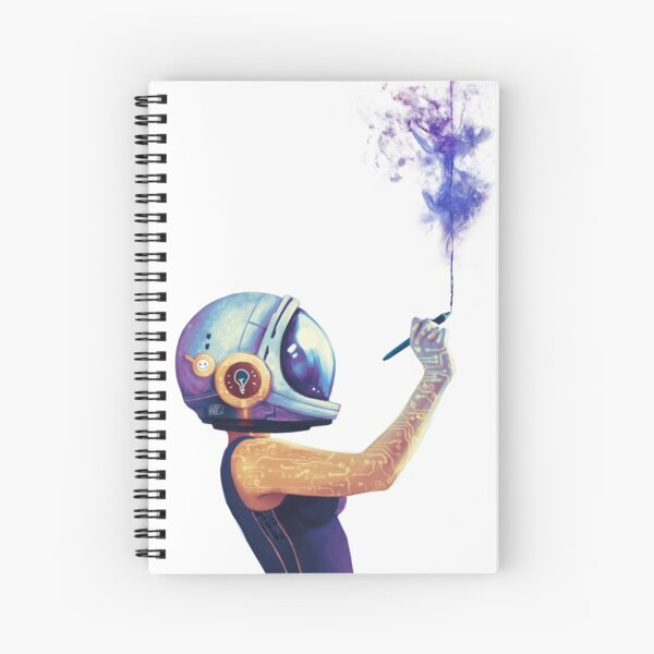 Welcome to my Universe Spiral Notebook