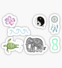 Boho Tumblr Stickers Sticker