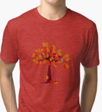 Pear Tree red Tri-blend T-Shirt
