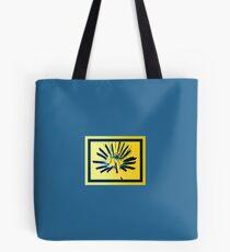 Yellow Starburst Tote Bag