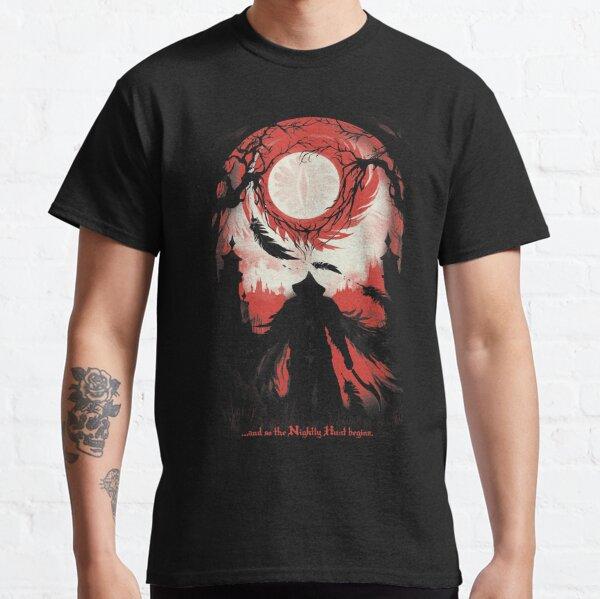 Y así comienza la Cacería nocturna Camiseta clásica