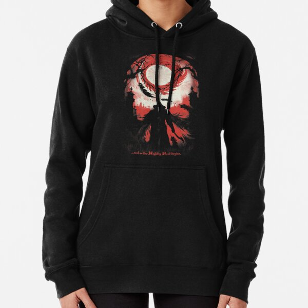 And so the Nightly Hunt begins Pullover Hoodie