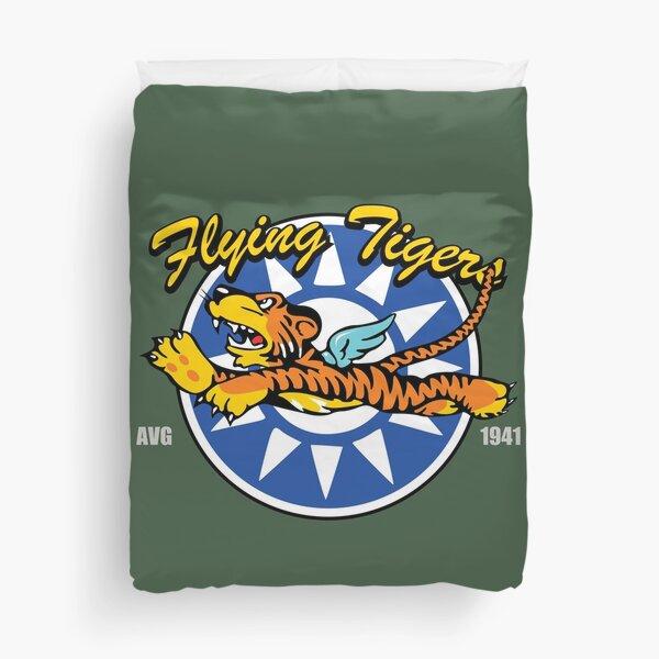 WW2 Flying Tigers AVG Duvet Cover