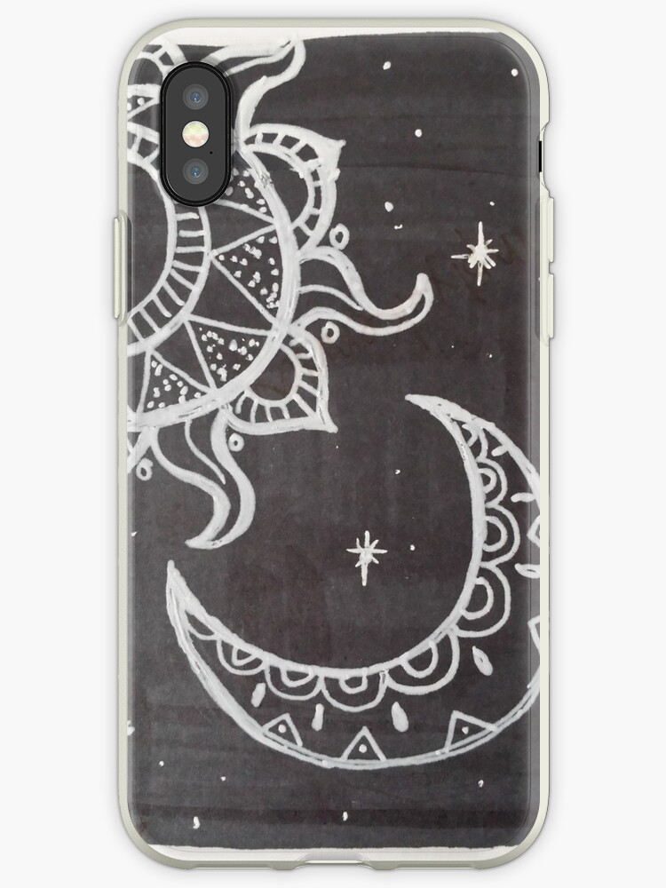 online retailer 32ad7 4e339 'sun and moon' iPhone Case by Aki Weininger