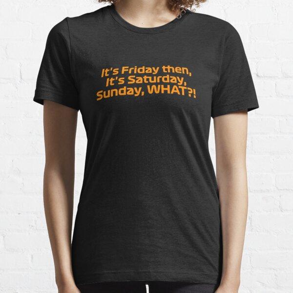 It's Friday Then - F1 Team Radio - Norris Essential T-Shirt
