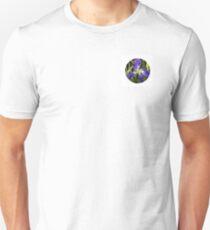 The Eye of a Yellow-Purple Flower T-Shirt