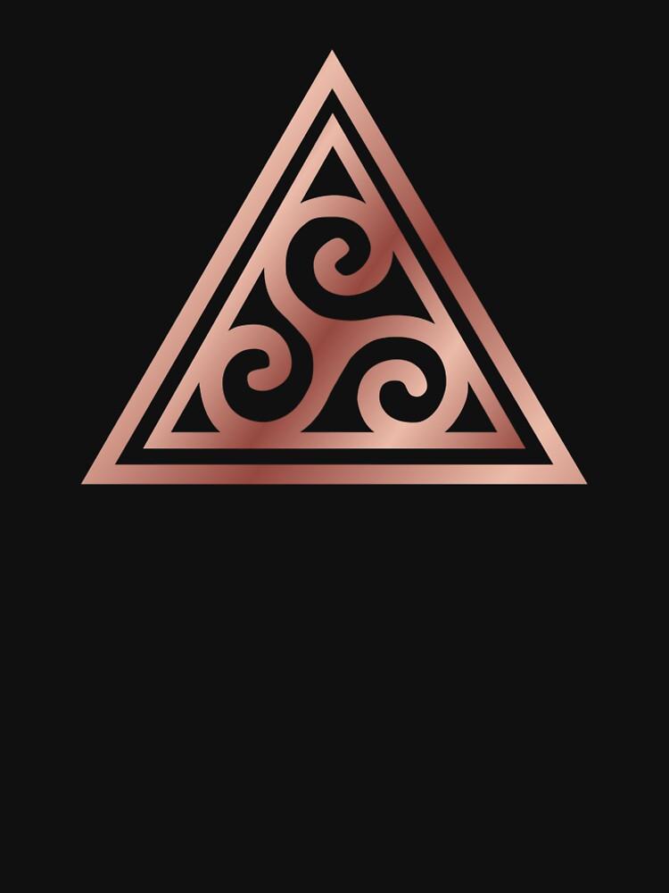Triskelle Spiral Triple Goddess by MenoPower