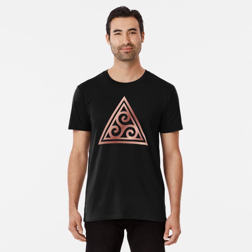 Triskelle Spiral Triple Goddess Premium T-Shirt