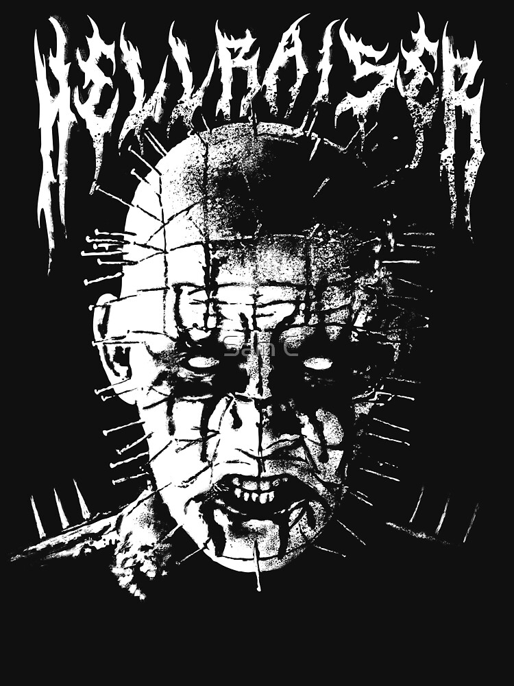 Black Metal Pinhead by samRAW08