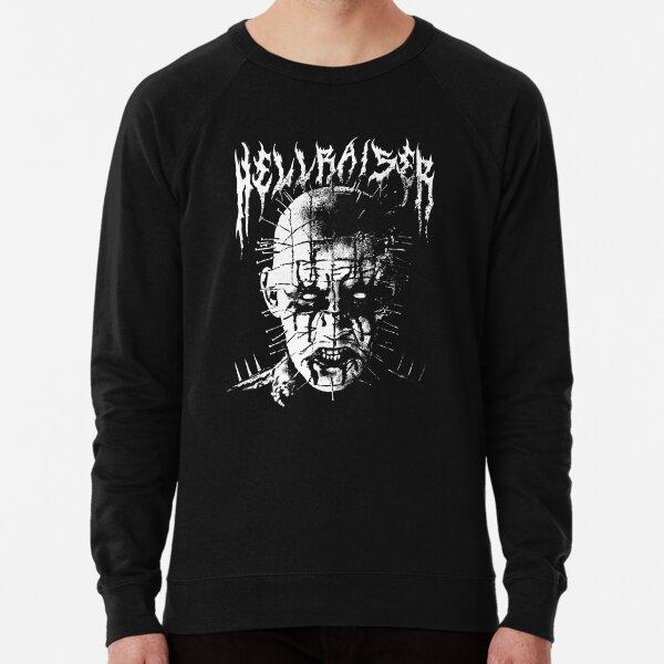 Black Metal Pinhead Lightweight Sweatshirt