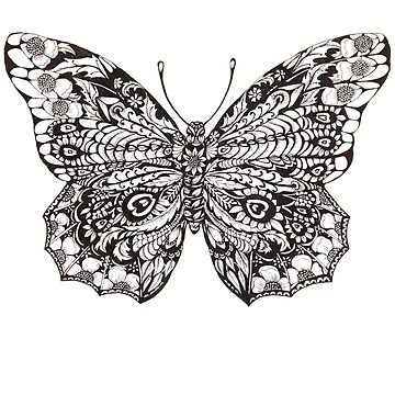 Decorative Butterfly by DecorativeD