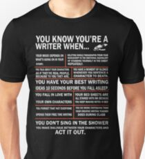 Writer t shirt Unisex T-Shirt