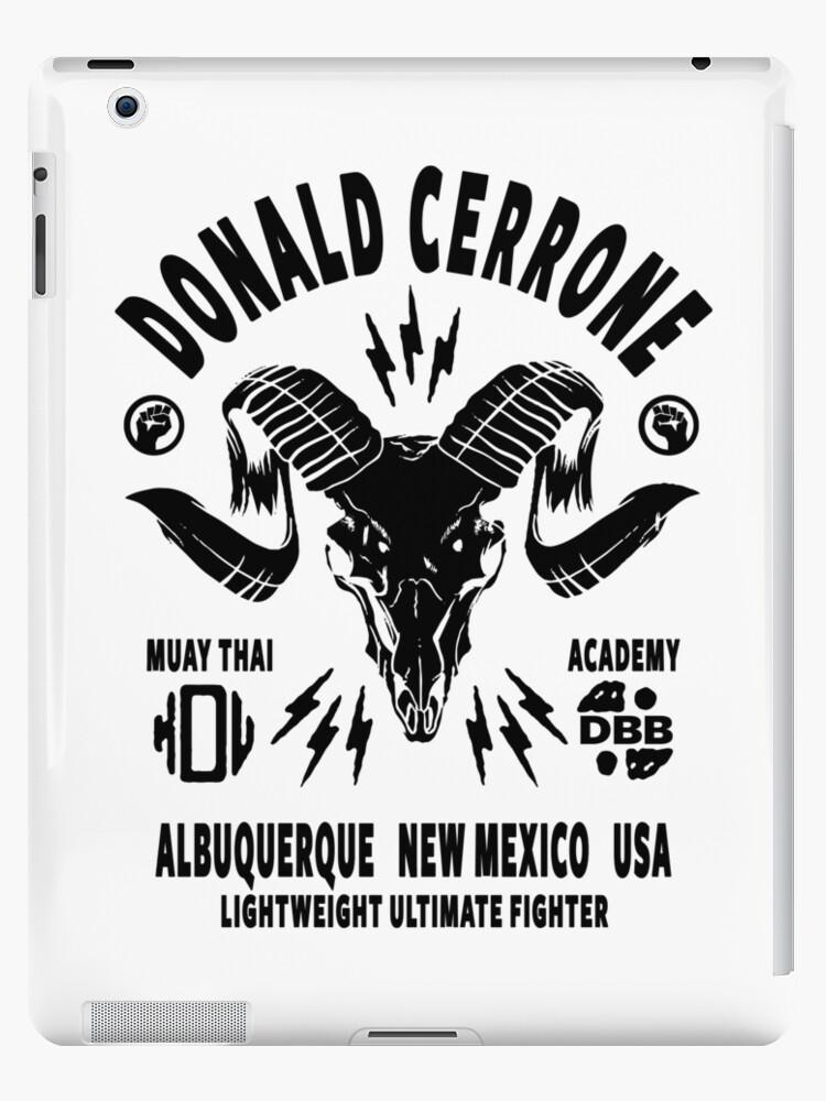 Donald Cerrone Muay Thai Academy Ipad Case Skin By Fightzoneultra Redbubble
