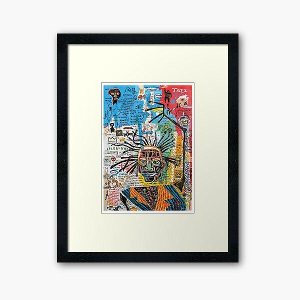 jazz sumo Framed Art Print