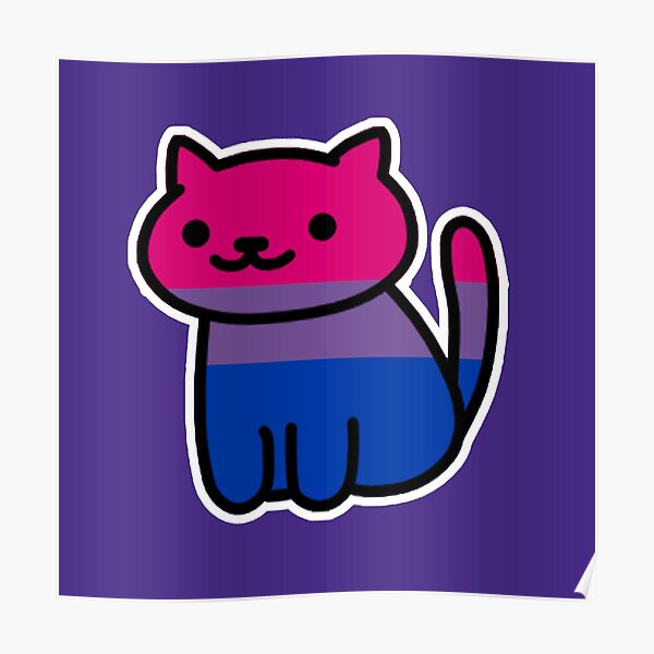Neko Pride: Bisexual Poster