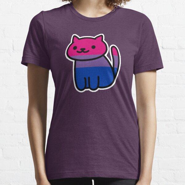 Orgullo Neko: Bisexual Camiseta esencial