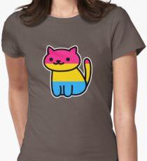 Neko Pride: Pansexual Womens Fitted T-Shirt