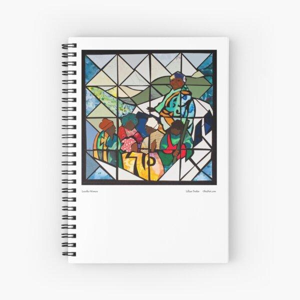 Lesotho Women Spiral Notebook