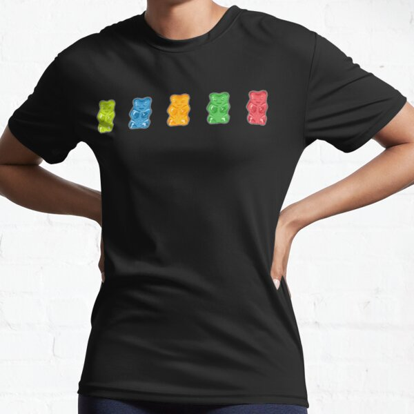 Rainbow Gummy Bears Active T-Shirt