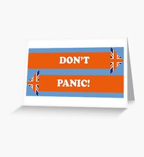 Dad's Army –Don't Panic! Greeting Card