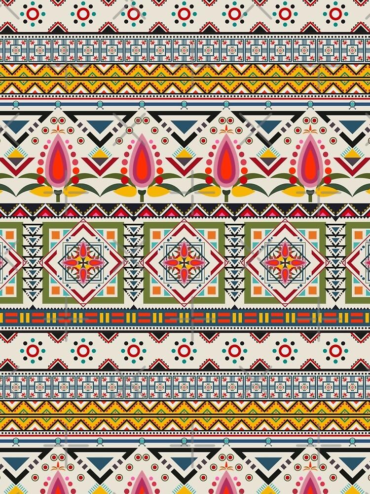 Crazy ethnic pattern by mydegage