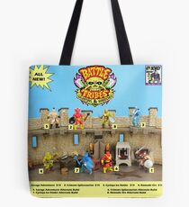 Battle Tribes Retro Catalog Tote Bag