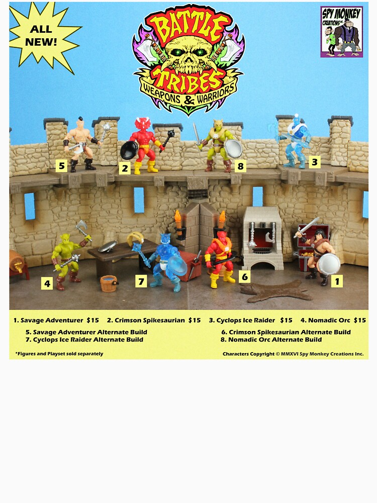 Battle Tribes Retro Catalog by spymonkey