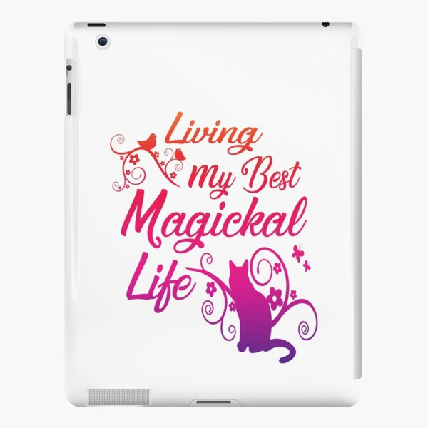 Living My Best Magickal Life Cheeky Witch® iPad Snap Case
