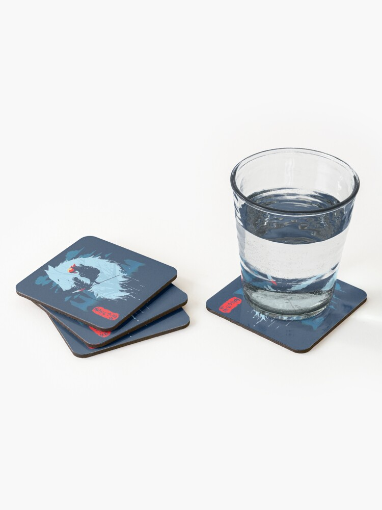 Alternate view of Wolf Coasters (Set of 4)