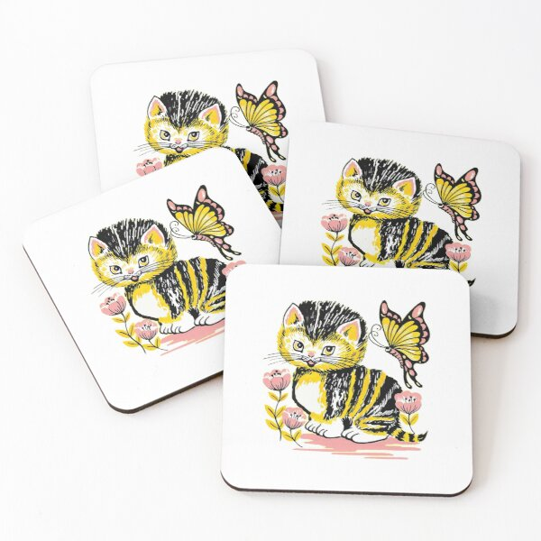 Catcrumb T-shirt  Coasters (Set of 4)
