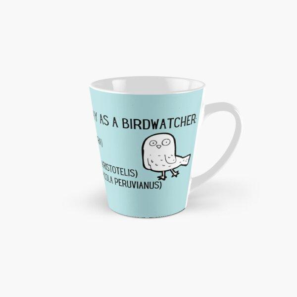Rude bird names funny birding list Tall Mug