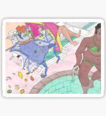 cosmo funpark Sticker