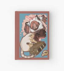 Puddin' Builds A Catbot Hardcover Journal