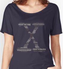 Weisheit von Akte X (Grau) Loose Fit T-Shirt