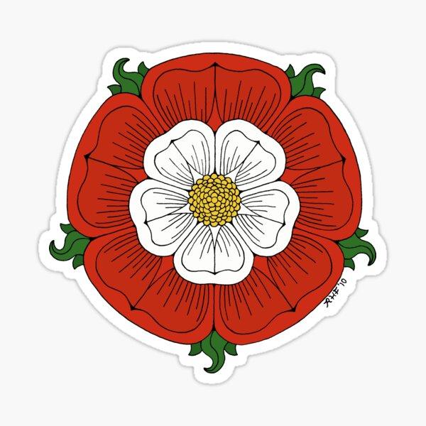 Tudor Rose Sticker