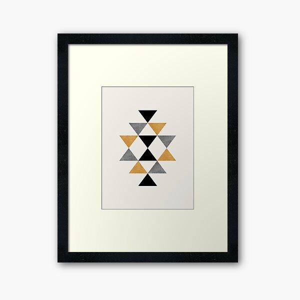 Southwestern Graphic  Framed Art Print