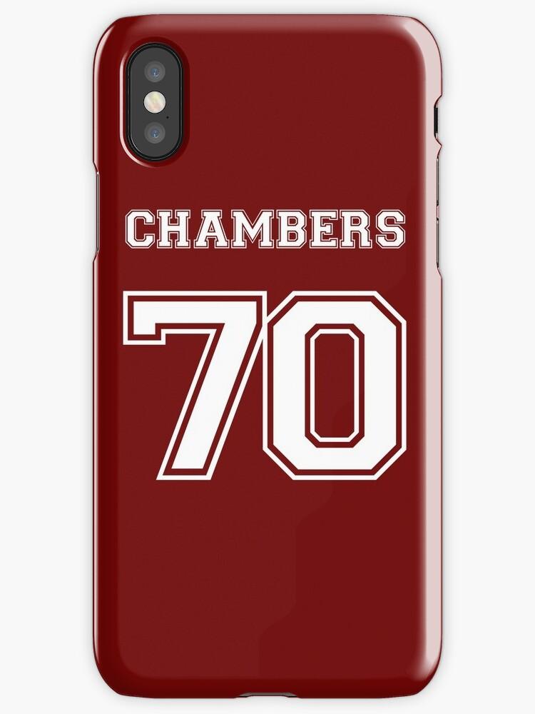 Vinilos y fundas para iPhone «Justin Chambers \'70» de Lyndsey ...