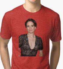 tina fey transparent. Tri-blend T-Shirt