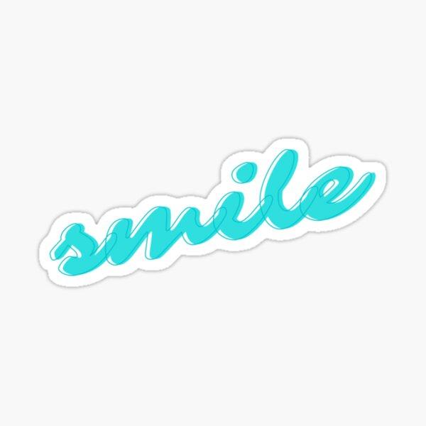 Smile sticker Sticker