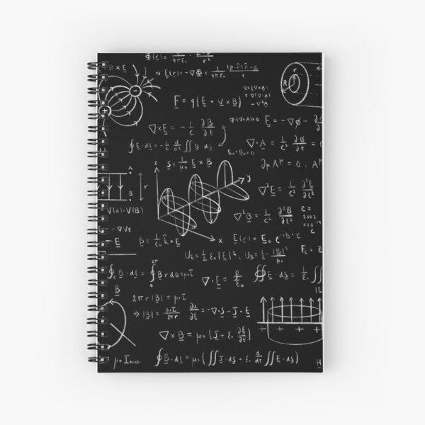 Electromagnetism Spiral Notebook