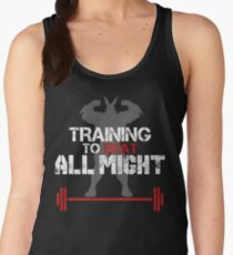 TRAINING TO BEAT ALL MIGHT Women's Tank Top