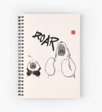 Cuaderno de espiral Yawn vs. Rugido