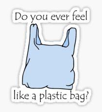 Plastic bag Sticker