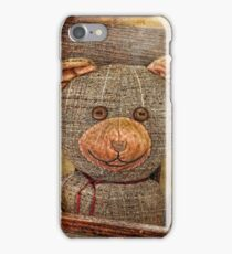 Vintage Teddy iPhone Case/Skin