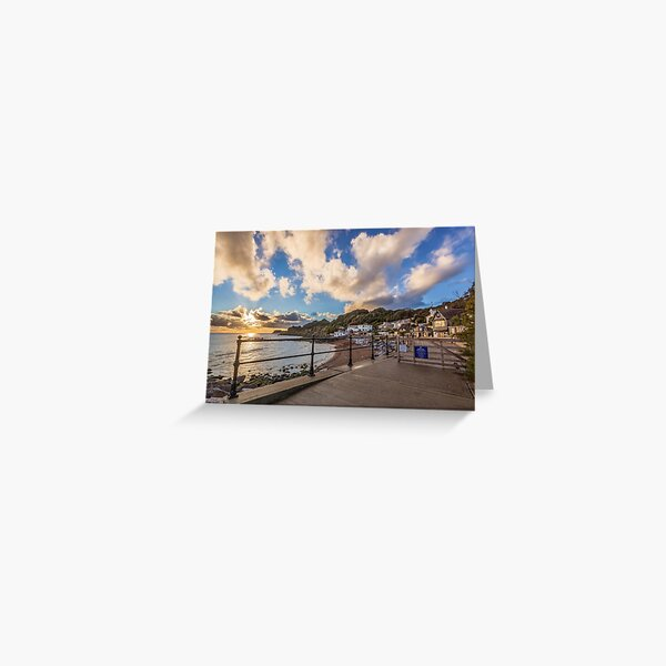 Welcome To Steephill Cove Greeting Card