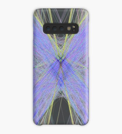 Violet Butterfly Case/Skin for Samsung Galaxy