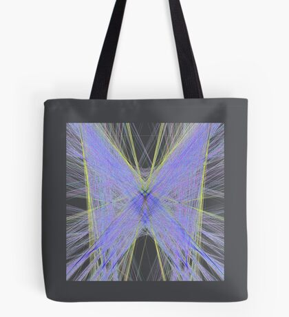 Violet Butterfly Tote Bag