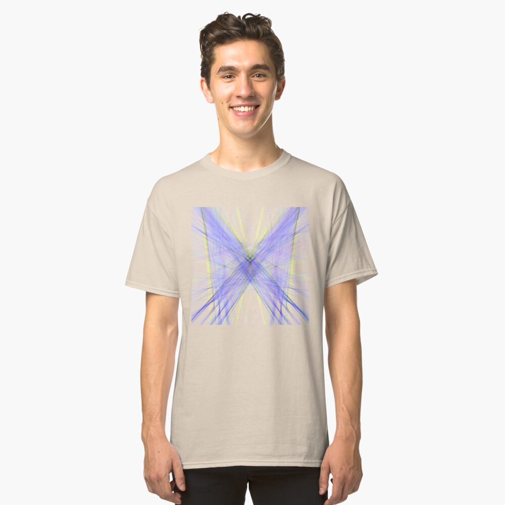 Violet Butterfly Classic T-Shirt