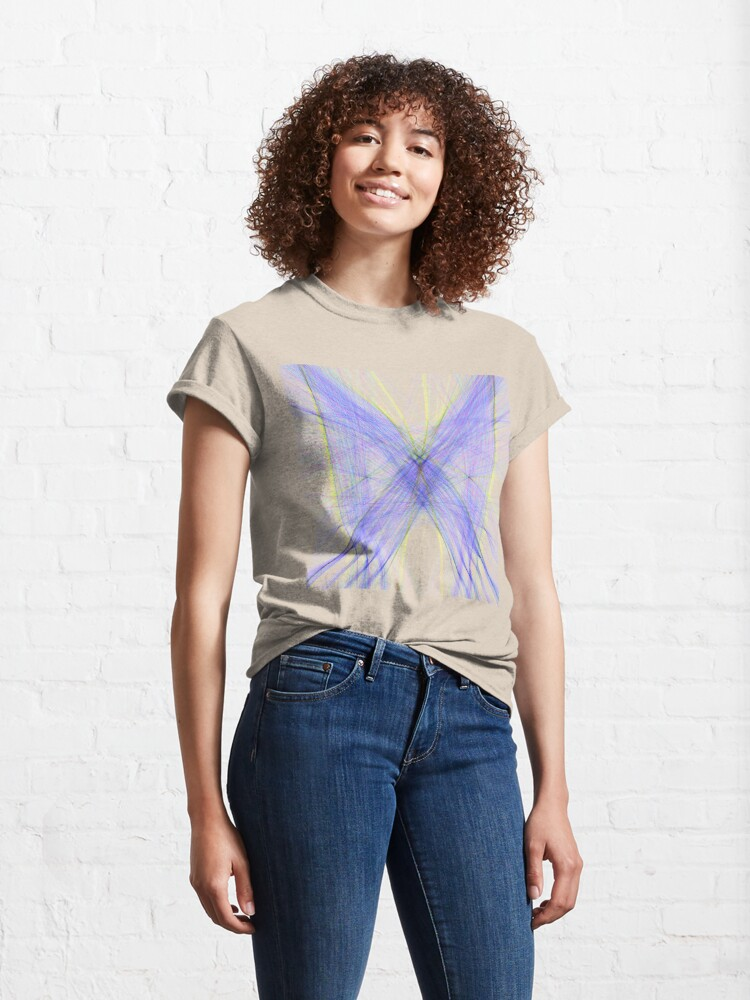 Alternate view of Violet Butterfly Classic T-Shirt
