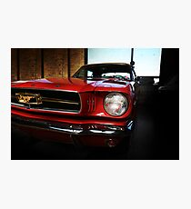 ford mustang classic car Photographic Print